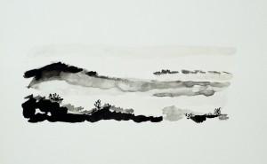 Stöckach I ca. 2009 / Aquarell / 18 x 26 cm