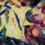 Ostern ca. 1998 / Acryl auf Papier / 50 x 70 cm
