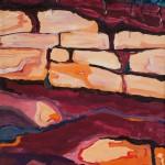 Schatz im Acker1991 / Tempera auf Papier / 50 x 60cm