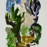 Griechenland II 2011 / Aquarell / 18×26 cm