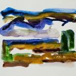 Griechenland III 2011 / Aquarell / 18 x 26 cm